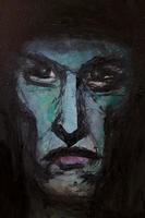 男性の顔のイラスト