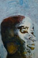 男性の横顔のイラスト