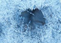 冬の渓流 茨城県