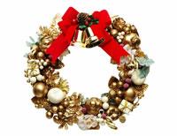 リース、クリスマスイメージ 09517001068| 写真素材・ストックフォト・画像・イラスト素材|アマナイメージズ
