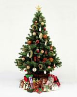 クリスマスツリーとプレゼント 09517001080| 写真素材・ストックフォト・画像・イラスト素材|アマナイメージズ