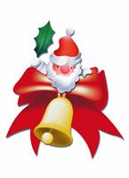 サンタクロース、クリスマスイメージ