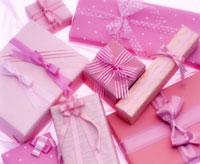 ピンクのギフト