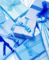 ブルーのギフト 09517001257| 写真素材・ストックフォト・画像・イラスト素材|アマナイメージズ