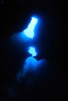 パラオの水中洞窟