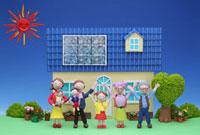 クラフト 太陽電池の住宅