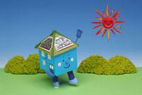 クラフト 太陽電池の家