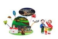 北海道の観光地とご当地名物と家族