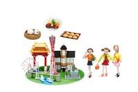 観光地 神戸とご当地名物と女子友達 09522000872| 写真素材・ストックフォト・画像・イラスト素材|アマナイメージズ