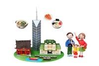 観光地 福岡とご当地名物と家族 09522000880| 写真素材・ストックフォト・画像・イラスト素材|アマナイメージズ
