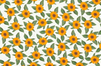 黄色い向日葵のシート