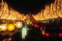シャンゼリゼ通りのクリスマスイルミネーション 10120001913| 写真素材・ストックフォト・画像・イラスト素材|アマナイメージズ