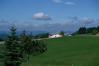 田園と1軒の家 ドイツ