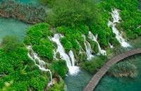 プリトヴィッツェ湖群国立公園の滝