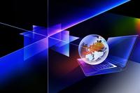 ノートパソコンとフィルム 10131011845| 写真素材・ストックフォト・画像・イラスト素材|アマナイメージズ