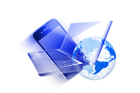 スマートフォンとノートパソコン 10131011889| 写真素材・ストックフォト・画像・イラスト素材|アマナイメージズ