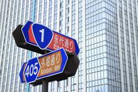呉服橋交差点の標識