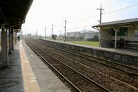 ローカル線の線路 10131018573| 写真素材・ストックフォト・画像・イラスト素材|アマナイメージズ