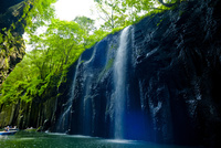 高千穂峡 真名井の滝