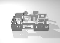 立体の図面 10131025539| 写真素材・ストックフォト・画像・イラスト素材|アマナイメージズ