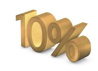 立体文字/10%
