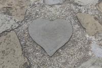 グラバー園のハートの石