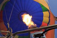 熱気球の炎