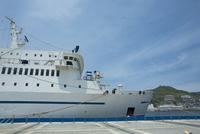 長崎港の客船