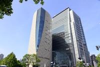 大阪歴史博物館とNHK 大阪放送局