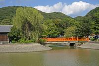 宇治川と観流橋