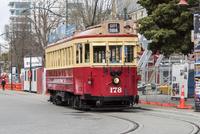 ウースター通りを走る路面電車トラム 10131037059| 写真素材・ストックフォト・画像・イラスト素材|アマナイメージズ