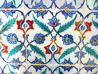 トプカプ宮殿のハレムの装飾タイル 10131037229| 写真素材・ストックフォト・画像・イラスト素材|アマナイメージズ