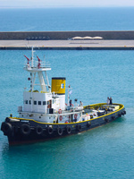 タグボート 10131037493| 写真素材・ストックフォト・画像・イラスト素材|アマナイメージズ