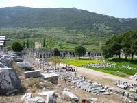 エフェソス遺跡 10131037500  写真素材・ストックフォト・画像・イラスト素材 アマナイメージズ