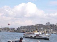 ボスポラス海峡と客船