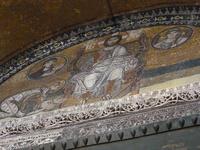 アヤソフィア大聖堂のキリストのモザイク画 10131037512| 写真素材・ストックフォト・画像・イラスト素材|アマナイメージズ