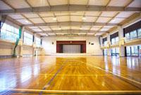 学校の体育館 10132010125| 写真素材・ストックフォト・画像・イラスト素材|アマナイメージズ