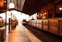 パリ北駅のホーム