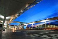 韓国空港近辺の夜明け 10132105506| 写真素材・ストックフォト・画像・イラスト素材|アマナイメージズ