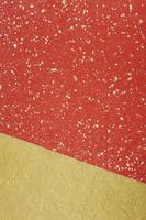 金箔の赤い和紙と金の和紙