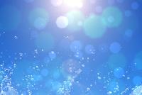 水色のキラキラの背景素材