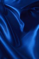 シルクの青い布のドレープ 10132111718| 写真素材・ストックフォト・画像・イラスト素材|アマナイメージズ