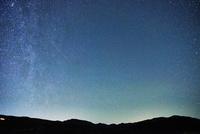 星空が広がる夜空の空