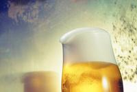 グラスのビール