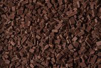 刻まれたチョコレート