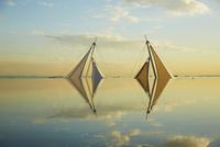 ヨットの帆 10132113473| 写真素材・ストックフォト・画像・イラスト素材|アマナイメージズ