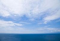 海上の青空