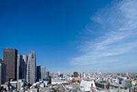 新宿駅西口駅前の高層ビル群