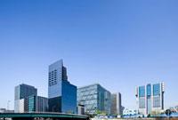 品川駅のビル群