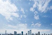 東京湾岸のビル群